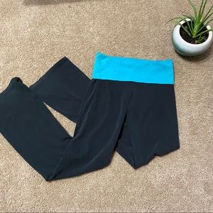 Love pink sweat pants blue & black Sz XL